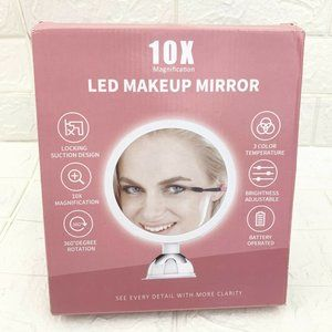 10X Magnifying Makeup Mirror Lights, LED Lighted